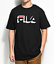 FILA Dropshadow Black T-Shirt