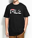 FILA Dropshadow Black T-Shirt