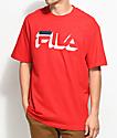 FILA Dropshadow Red T-Shirt