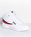 FILA F-13 White Shoes