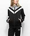FILA Faith Black, White & Grey Track Jacket