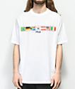 FILA Jack Flags camiseta blanca