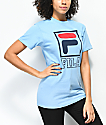 FILA Kayla Skyway Blue T-Shirt