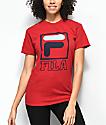 FILA Kayla camiseta roja
