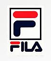 FILA Logo White Sticker