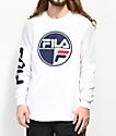 FILA Mariner camiseta blanca de manga larga
