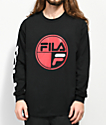 FILA Mariner camiseta negra de manga larga