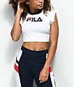 FILA Pia camiseta corta en blanco