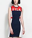 FILA Red, White & Blue Bodycon Dress