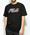 FILA Solar Black T-Shirt