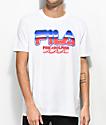 FILA x Pink Dolphin Chrome White T-Shirt
