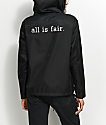 Fairplay Bolton Black & White Shell Jacket