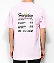 Fairplay Massage Pink T-Shirt