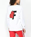 Fairplay Rose White Long Sleeve T-Shirt