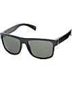 Flat Top Matte Black Sunglasses