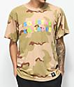 Flying Coffin Collapse Desert Camo T-Shirt