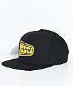 Fool's Gold Logo Black & Gold Snapback Hat