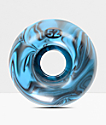 Form Black & Blue Swirl 52mm Skateboard Wheels