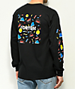 Fortune Primary Black Long Sleeve T-Shirt