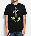 Fortune Skate Bandit Black T-Shirt