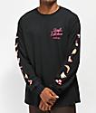 Fortune x The Skate Kitchen camiseta negra de manga larga