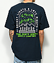 Forty Ninth Supply Co. Bright Lights Navy T-Shirt