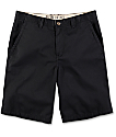 Free World Discord Black Chino Shorts
