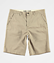 Free World Discord Light Khaki Chino Shorts