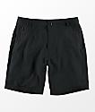 Free World Maverick Black Hybrid Shorts
