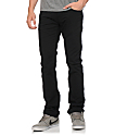 Free World Messenger 5 Pocket Twill Black Pants (Past Season)