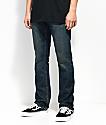 Free World Night Train jeans oscuros de ajuste regular