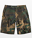 Free World Supertubes shorts híbridos de camuflaje