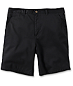 Free World Walker Black Chino Shorts