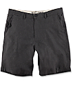 Free World Walker shorts chinos en negro jaspeado