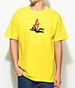 Freebandz Nobody Safe Danger camiseta en color amarillo
