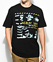 Freebandz Nobody Safe Faces camiseta negra