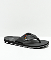 Freewaters Britt Channel Islands Black Sandals