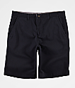 Freeworld Discord Black Chino Shorts