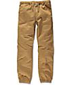 Freeworld Remy pantalones jogger en color tabaco para niños