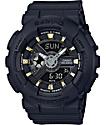 G-Shock Baby-G BA110GA-1A Gold Accent Black Watch