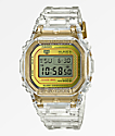 G-Shock DW5035 Skeleton Gold Digital Watch