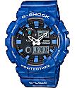 G-Shock G-Lide GAX100MA-2A Blue Marble Analog & Digital Watch