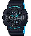 G-Shock GA-110LN-1A reloj en gris y azul