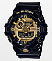 G-Shock GA-170 Garish reloj en negro y color oro