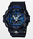 G-Shock GA710-1A2 Garish Matte Black & Blue Watch