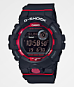 G-Shock GBD800 Black & Red Watch