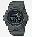 G-Shock GBD800 Dark Olive & Black Digital Watch