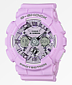 G-Shock GMAS120 reloj morado pastel