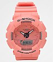 G-Shock GMAS130 Vibrant Coral Mono Watch