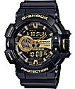 G-Shock Garish GA-400GB-1A9 reloj negro y oro